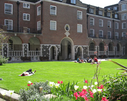features goodenough college